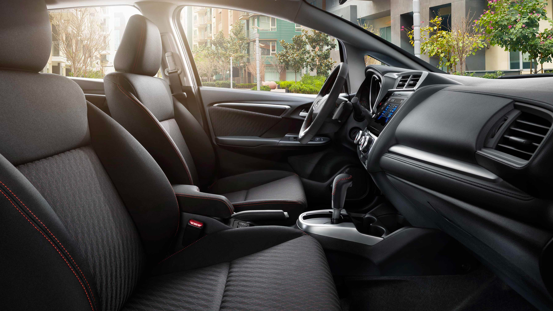 2019 Honda Fit Front Seats View