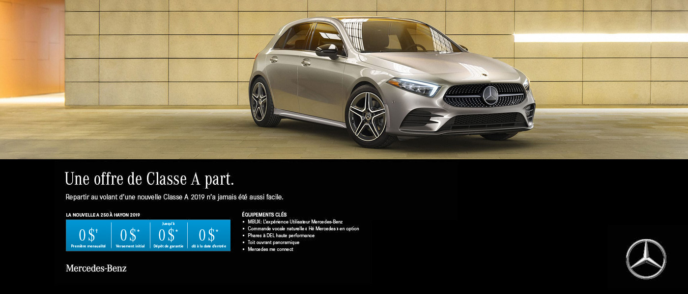 Mercedes-Benz A-Class offer