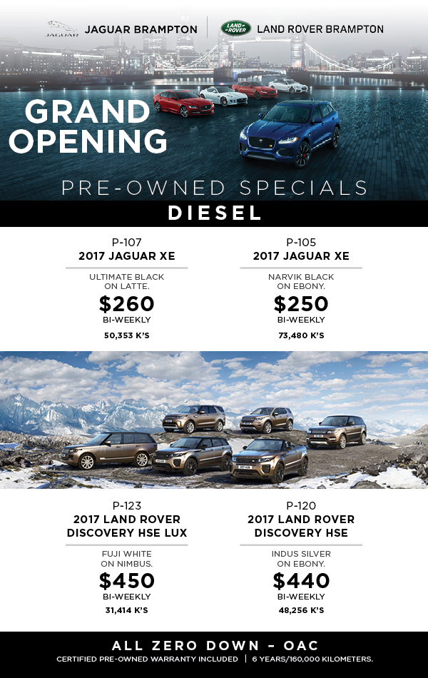land rover  Pre Owned Sales Grid