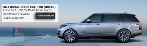 MWJLR 2021 Range Rover HSE Offer Graphic