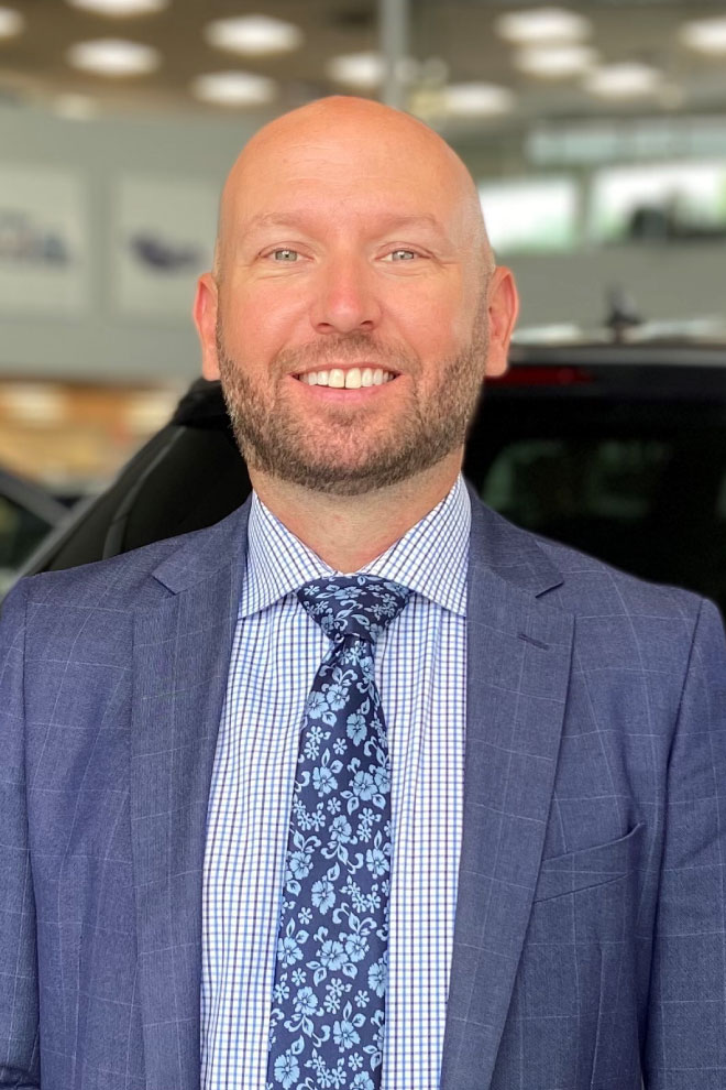 Chad Atkinson - New Vehicle Sales Floor Manager