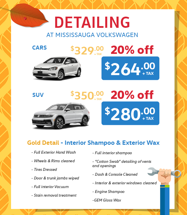 Mississauga Vw Fall Service Specials Detailing