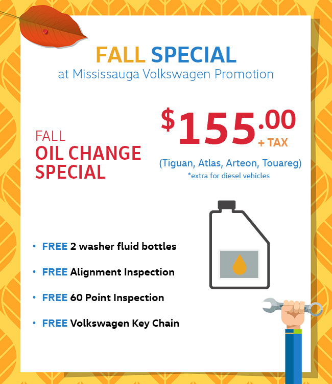 Mississauga Vw Fall Service Special Oil Change