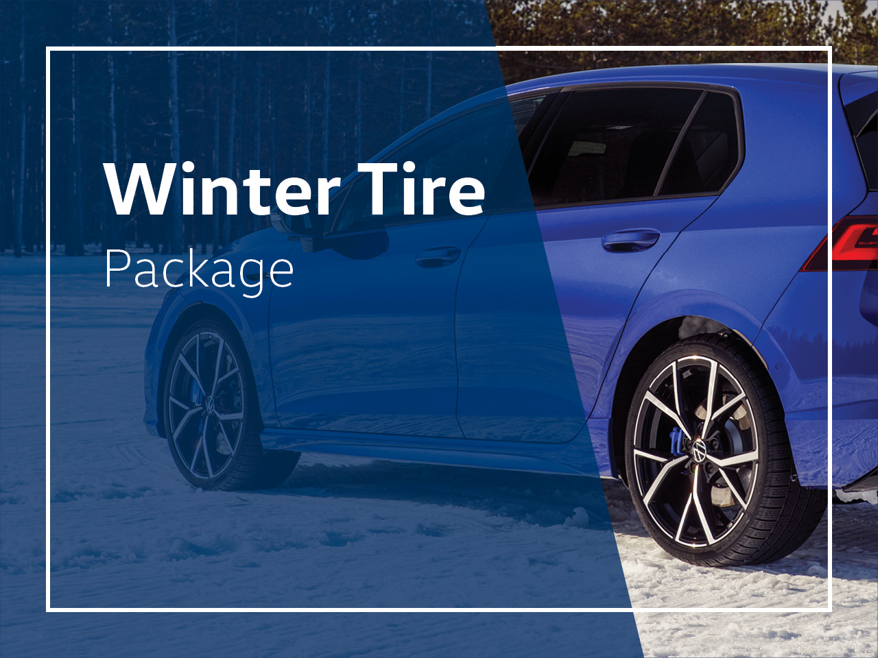 Cowell Volkswagen - Special Offers Winter Tire Package