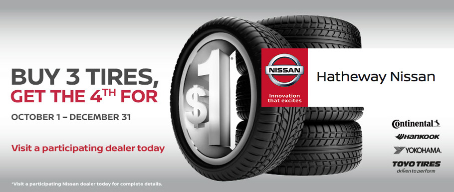 One Dollar Tire Promo