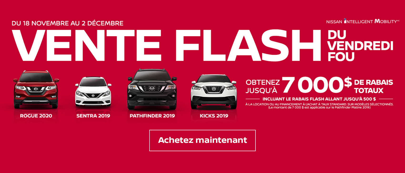 Black Friday Nissan OEM Offer French