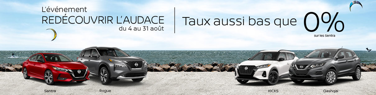 August Nissan Incentive French